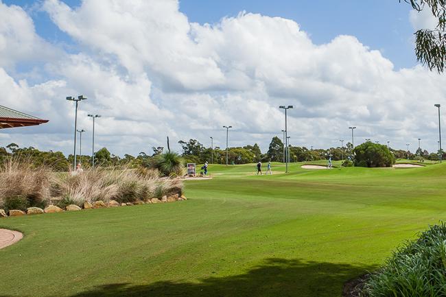 Paradise Golf - par 3
